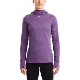 saucony Runstrong Thermal Hoodie violet indigo